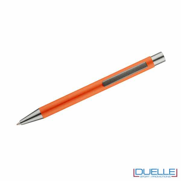 Penna soft touch colore arancio