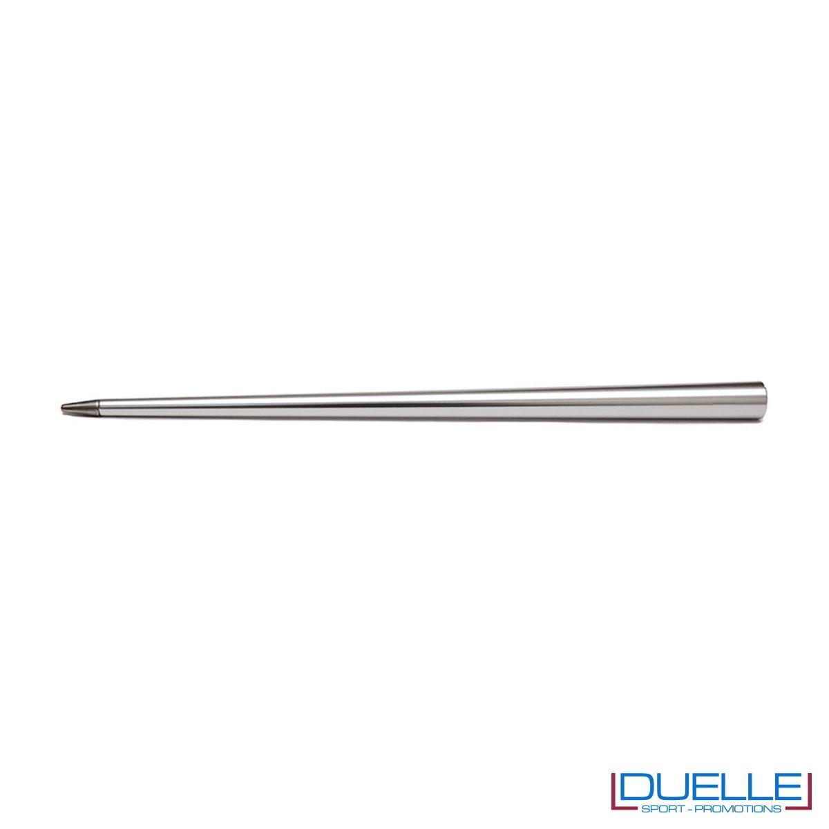 matita infinita personalizzata in colore argento, matita infinita 4ever promozionale in colore argento