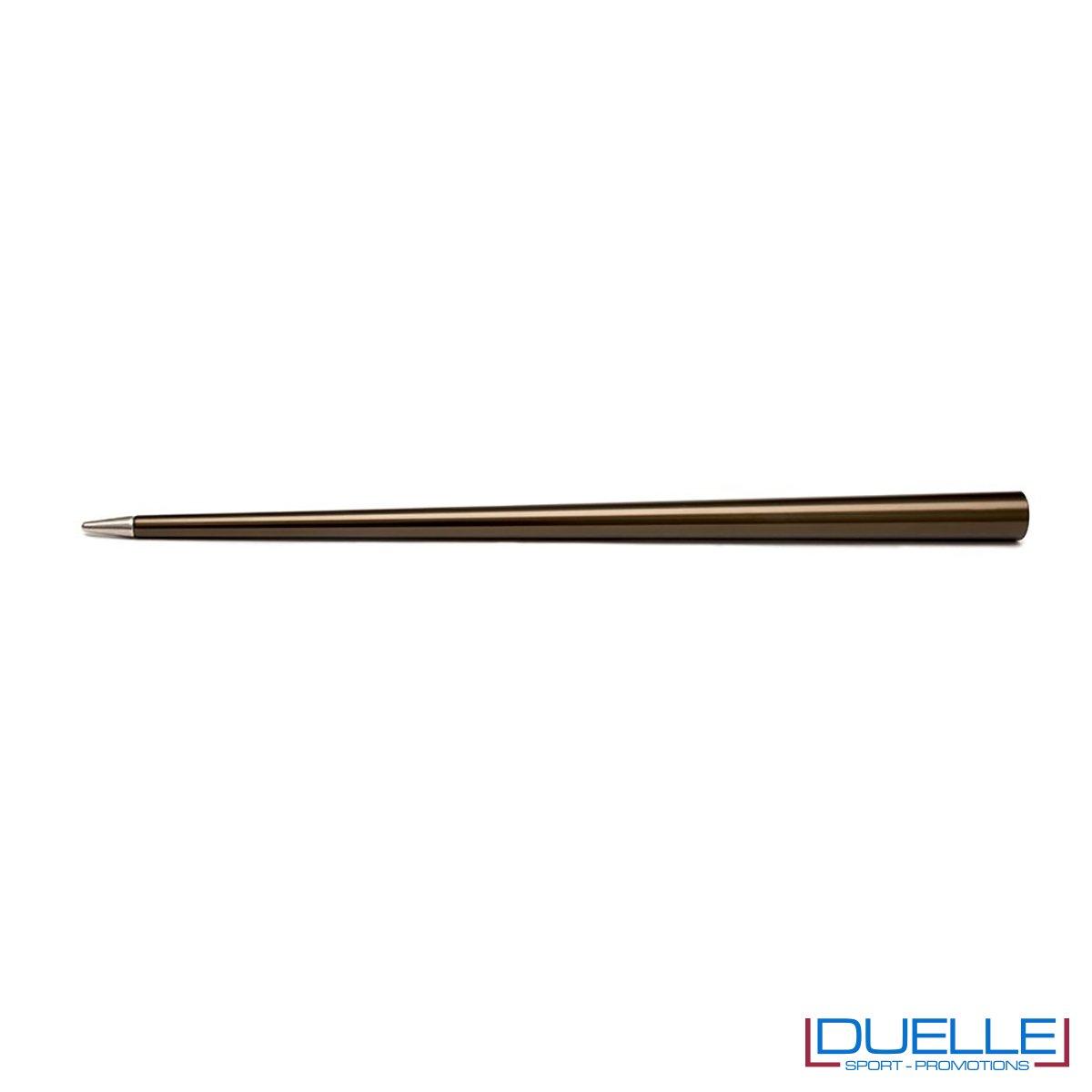 matita infinita personalizzata in colore bronzo, matita infinita 4ever promozionale in colore bronzo