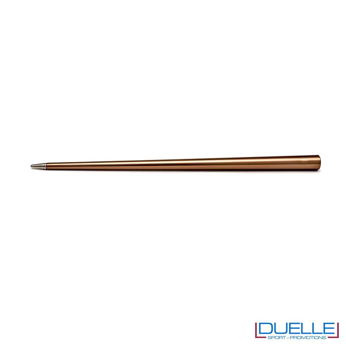 matita infinita personalizzata in colore rame, matita infinita 4ever promozionale in colore rame