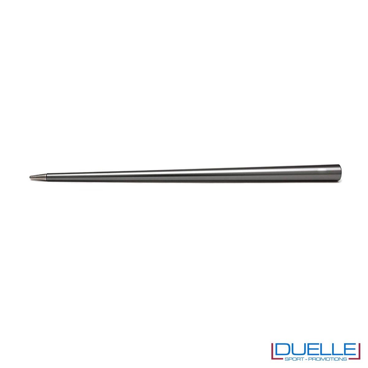 matita infinita personalizzata in colore titanio, matita infinita 4ever promozionale in colore titanio
