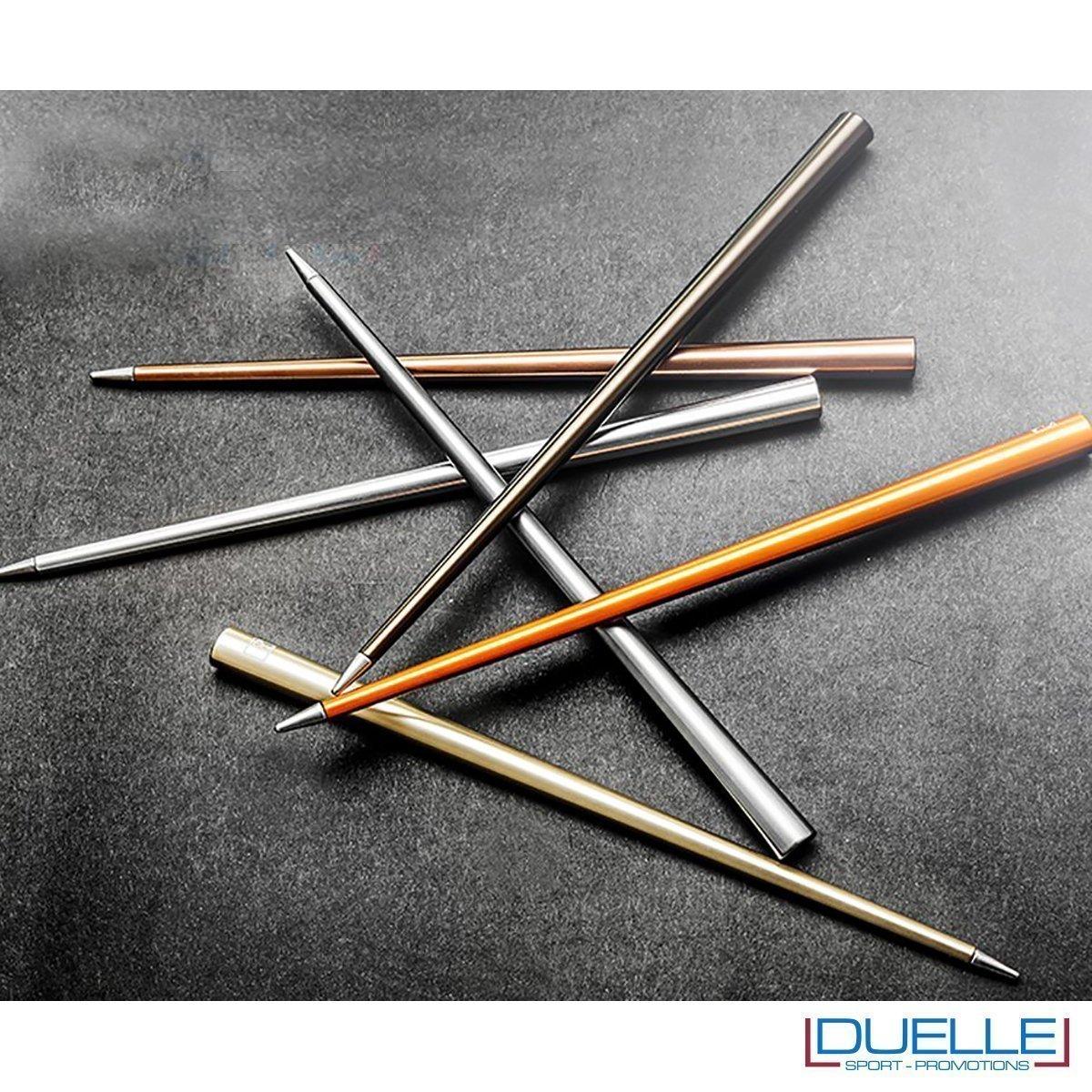 matita infinita personalizzata con incisione laser, colori 2017 matite infinite promozionali, 4EVER personalizzate foto d'insieme