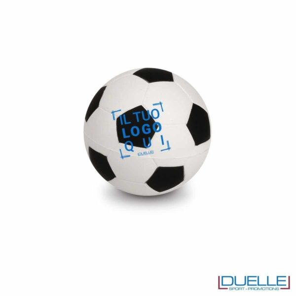 antistress personalizzato a forma di pallone da calcio, gadget sportivi personalizzati