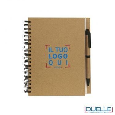 Agenda personalizzata, blocco appunti personalizzato, moleskine personalizzata, gadget aziendali, gadget personalizzati ecologici