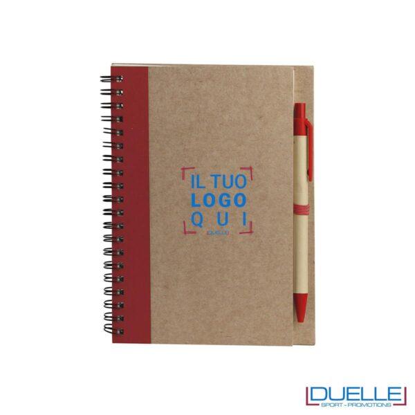 Agenda personalizzata, blocco appunti personalizzato, moleskine personalizzata, gadget aziendali, gadget personalizzati