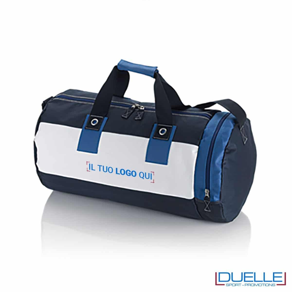 borsa promozionale ,borsa mare persolizzabile promozionale blu navy tessuto 600D