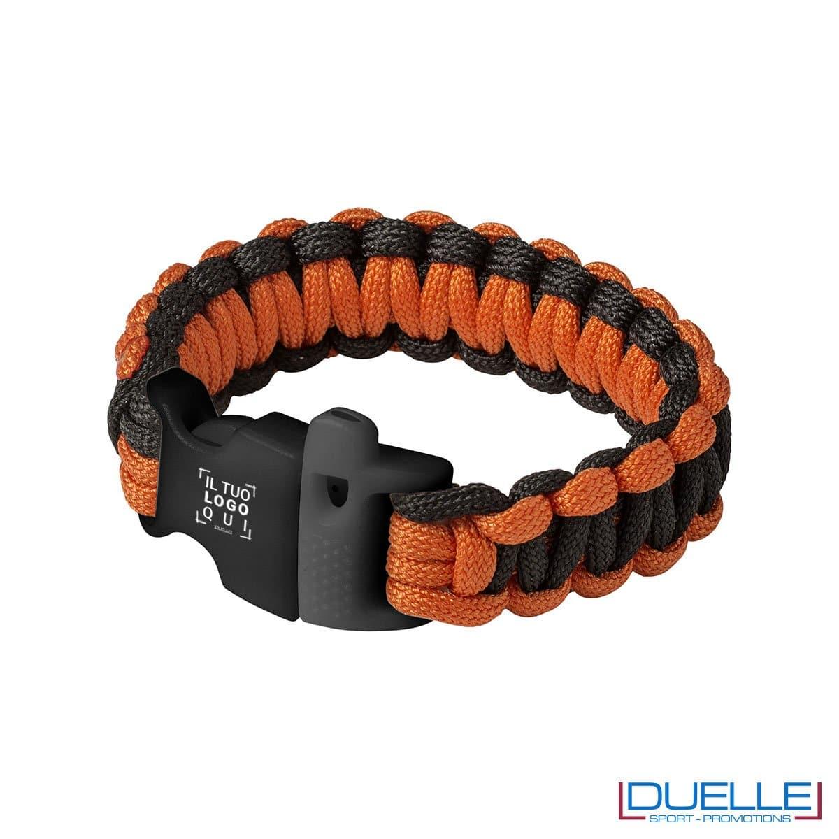 bracciale personalizzato di emergenza, bracciale promozionale di sopravvivenza