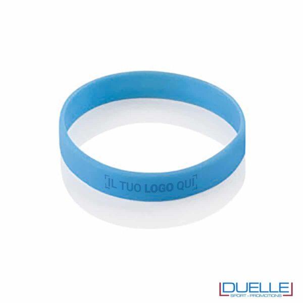 bracciale in silicone personalizzato azzurro Europei 2016, gadget estate sport, gadget Europei 2016, gadget tifo