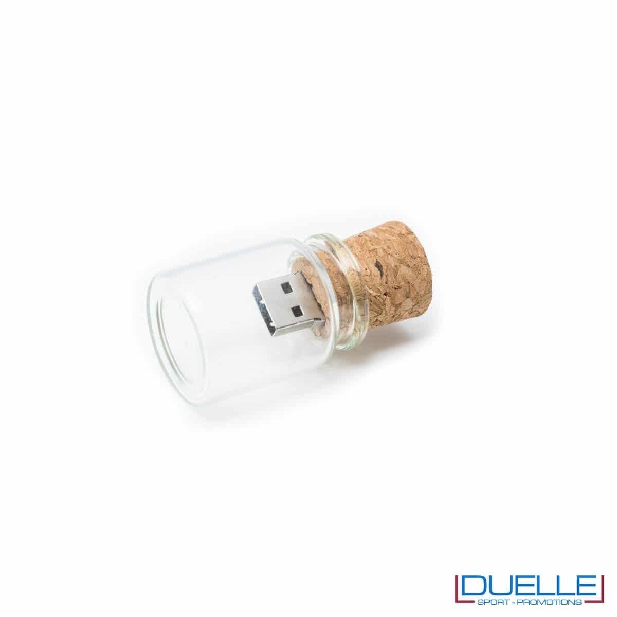 Pennetta USB personalizzata in sughero