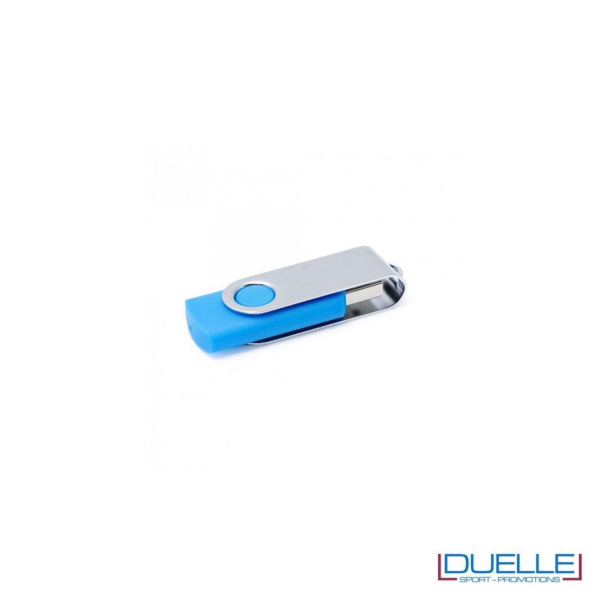 Memoria USB personalizzata con incisione laser