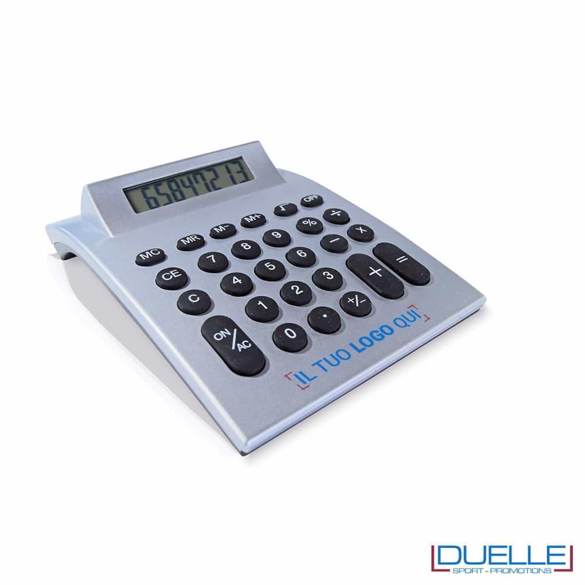 Calcolatrice personalizzata tasti gommati