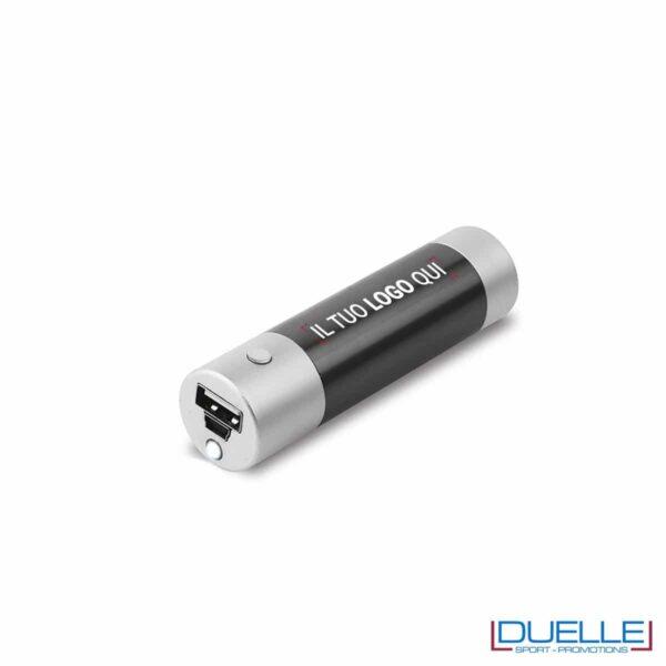 Caricabatteria USB LED personalizzato con stampa