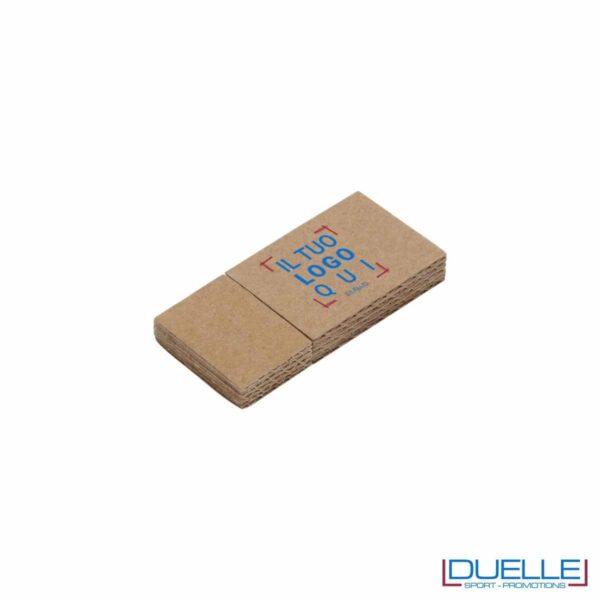 Pennetta USB ecologica in cartone personalizzata