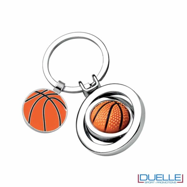 Portachiavi personalizzato con pallone da Basket