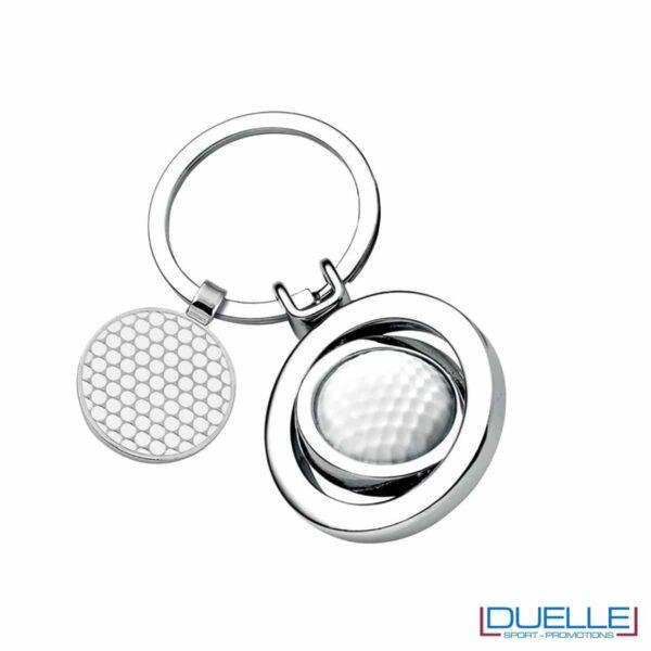 Portachiavi personalizzato Golf elegante