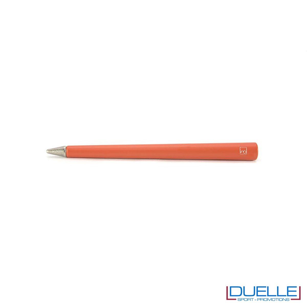matita infinita personalizzata primina in colore rosso, regali aziendali personalizzabili rossi