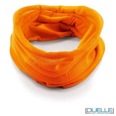 Scaldacollo personalizzato colore arancione