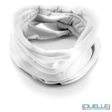 Scaldacollo personalizzato colore bianco