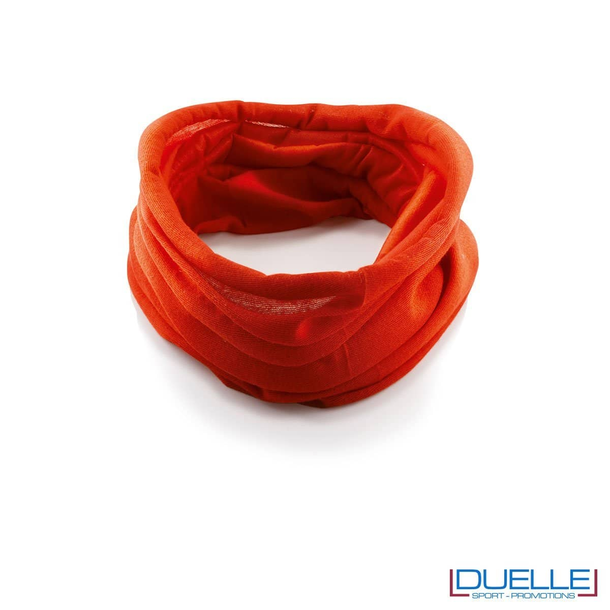 Scaldacollo personalizzato colore rosso