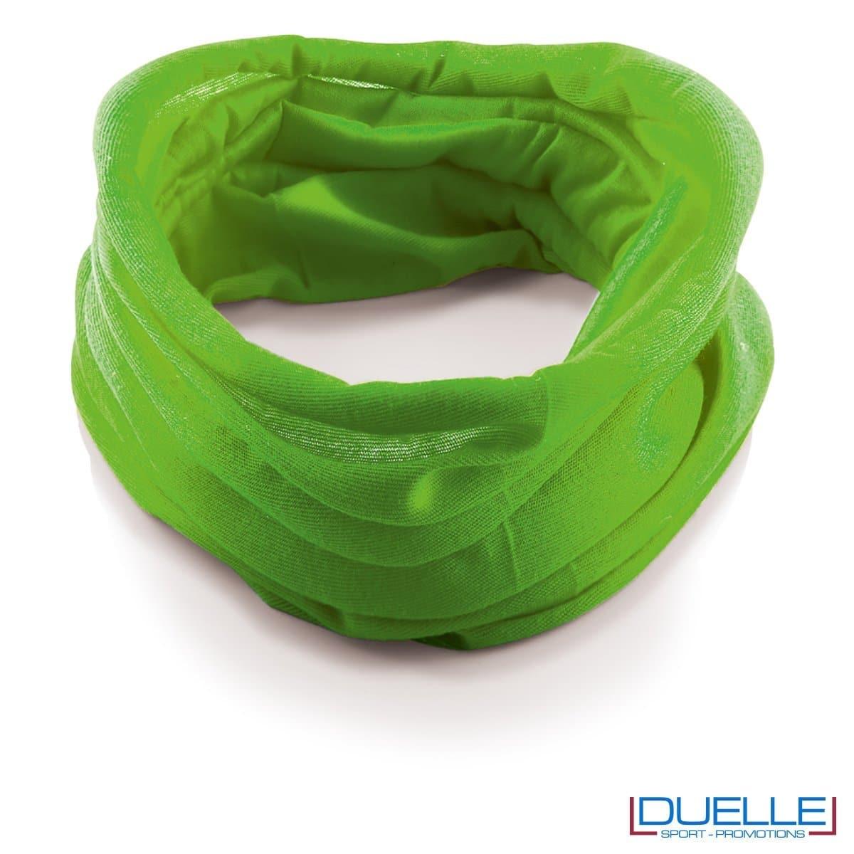 Scaldacollo personalizzato colore verde chiaro
