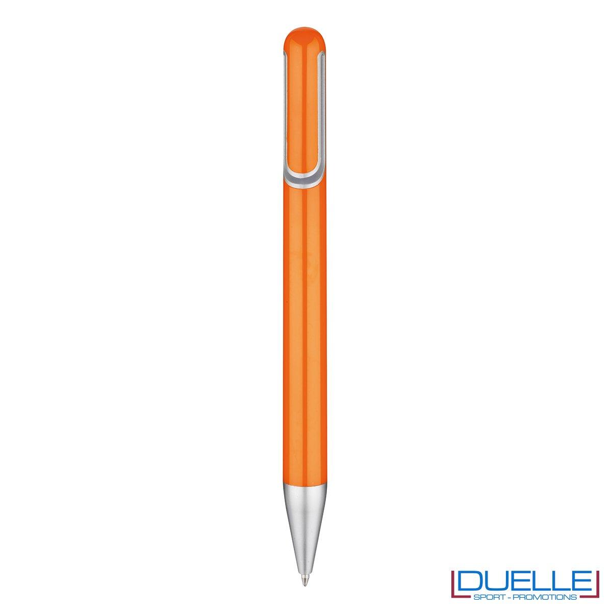 penna promozionale economica personalizzata in colore arancione, penne promozionali personalizzate arancione
