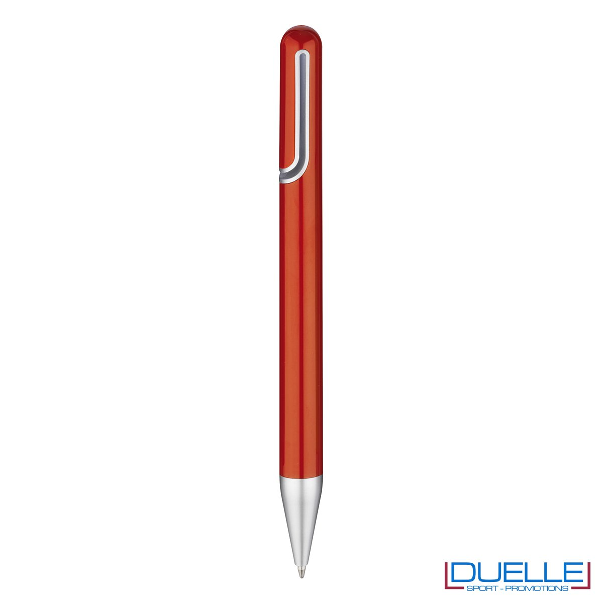 penna promozionale economica personalizzata in colore rosso, penne promozionali personalizzate rosse