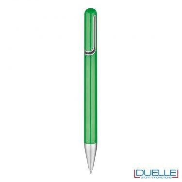penna promozionale economica personalizzata in colore verde, penne promozionali personalizzate verdi