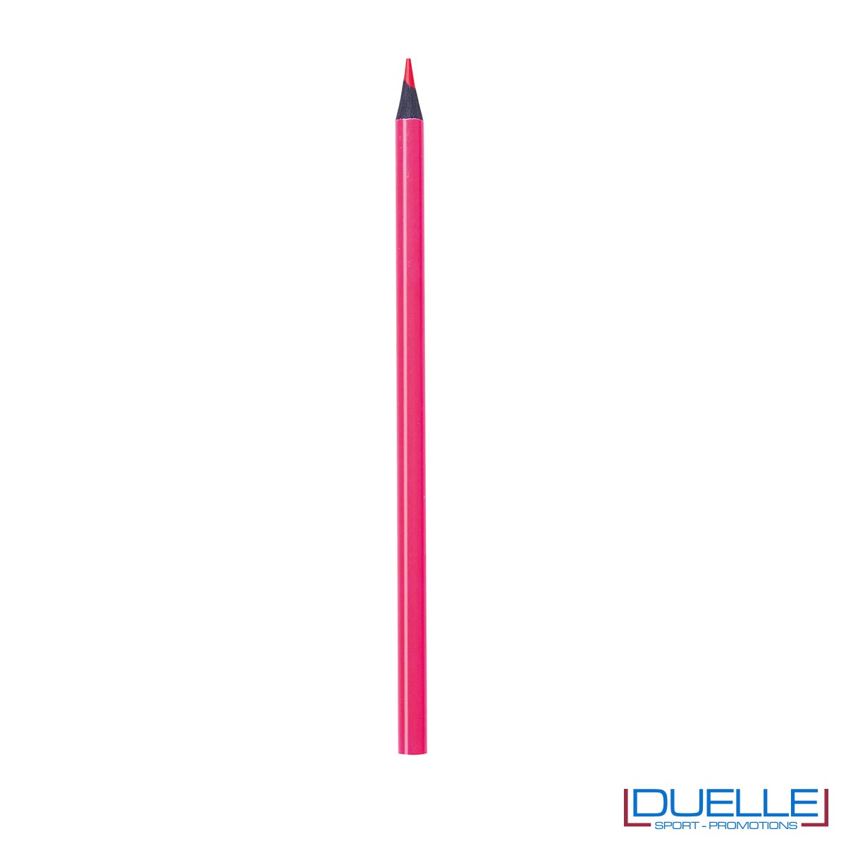 matita personalizzabile fuxia con mina evidenziatore, gadget legno, gadget ufficio
