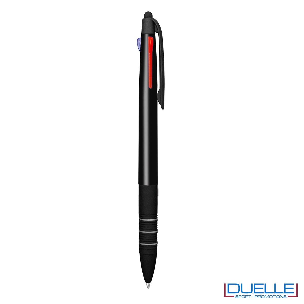Penna personalizzata con touch 3 in 1 colore nero