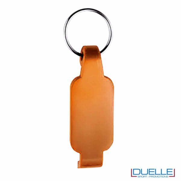 Portachiavi apribottiglie personalizzato colore arancione