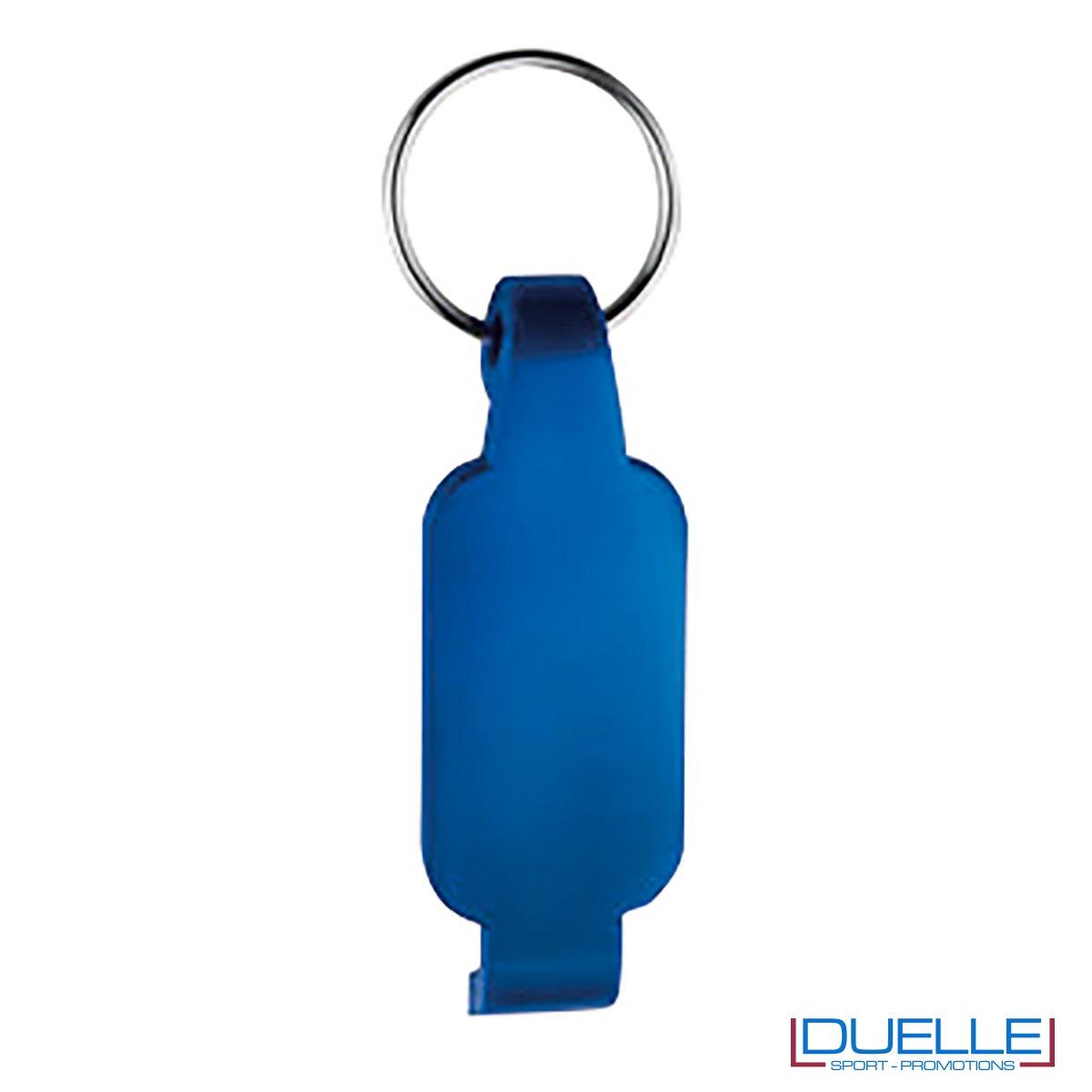 Portachiavi apribottiglie personalizzato colore blu