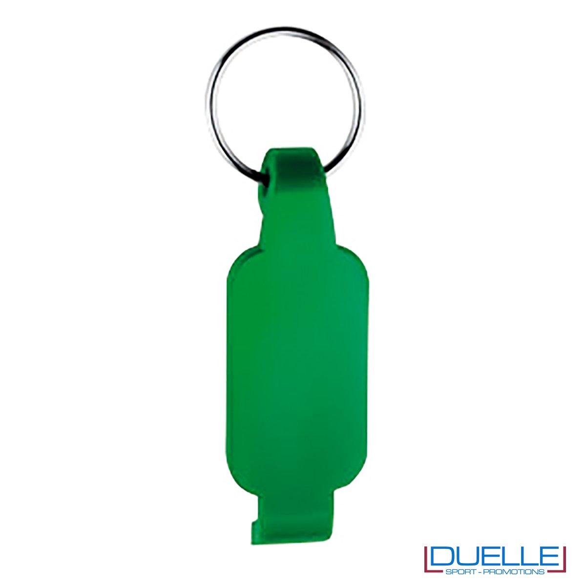 Portachiavi apribottiglie personalizzato colore verde