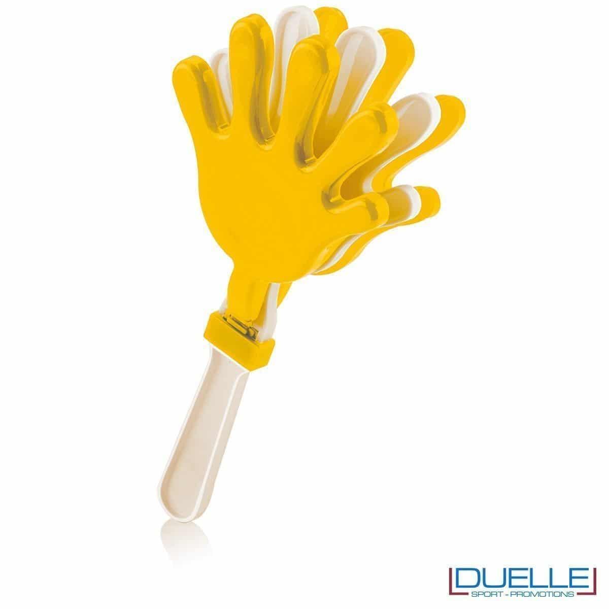 gadget tifoserie - manina per feste colore giallo -gadget estate, gadget feste