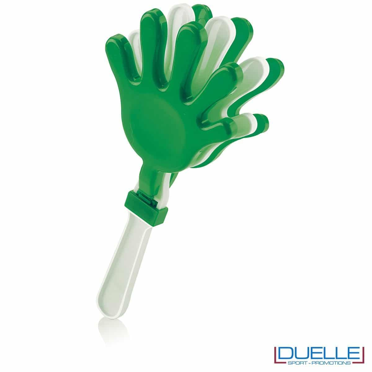 gadget tifoserie - manina per feste colore verde -gadget estate, gadget feste