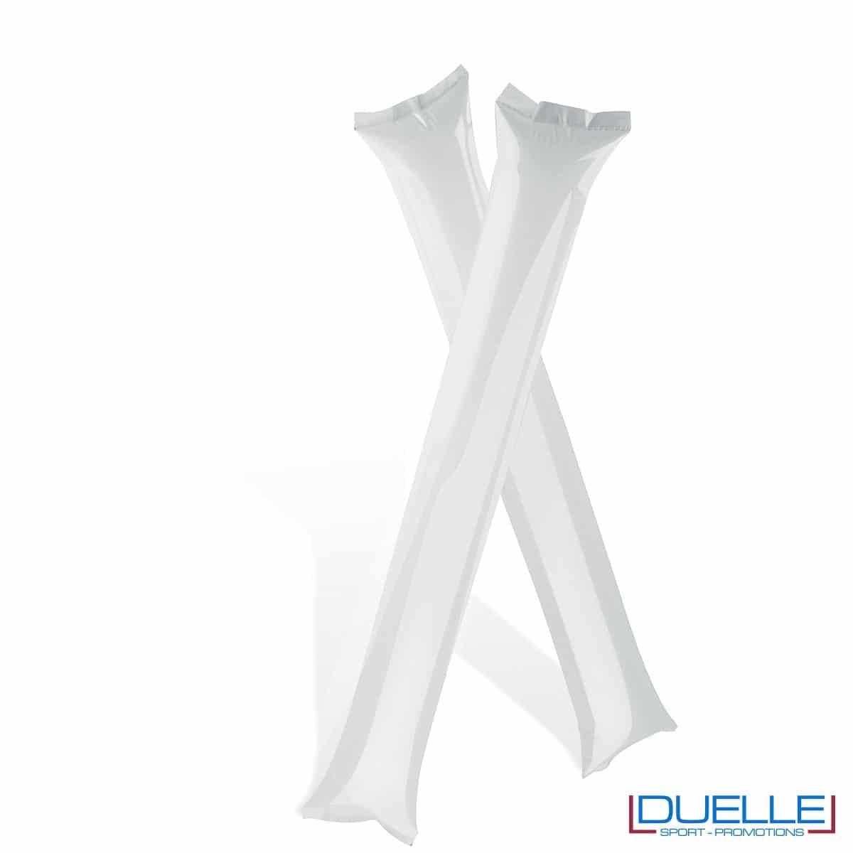 bastoni gonfiabili personalizzati bianco per gli Europei 2016, gadget feste