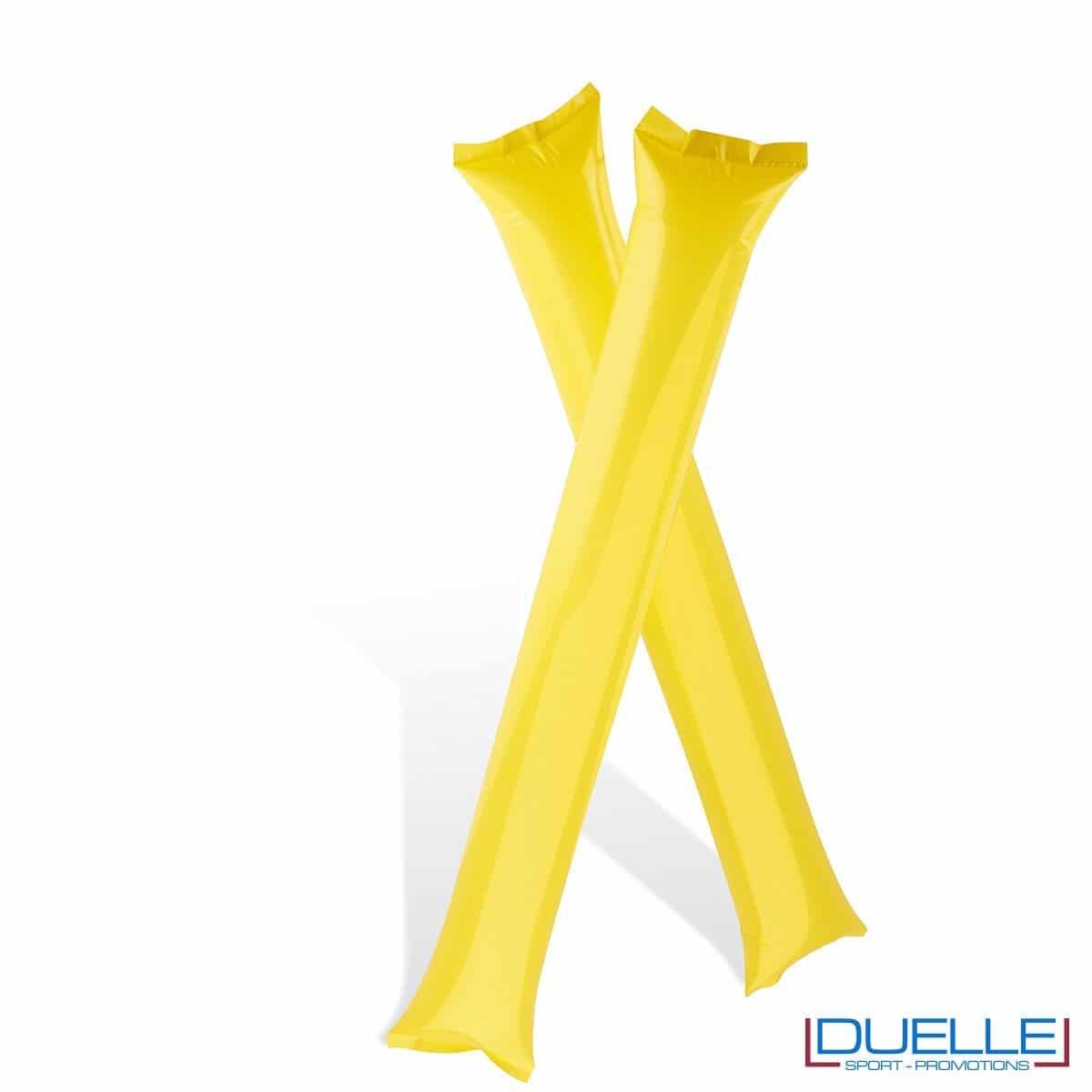 bastoni gonfiabili personalizzati giallo per tifoserie l, gadget Europei 2016, gadget feste