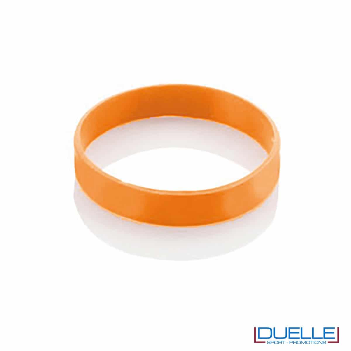 bracciale in silicone personalizzato arancione Europei 2016, gadget estate sport, gadget Europei 2016, gadget tifo