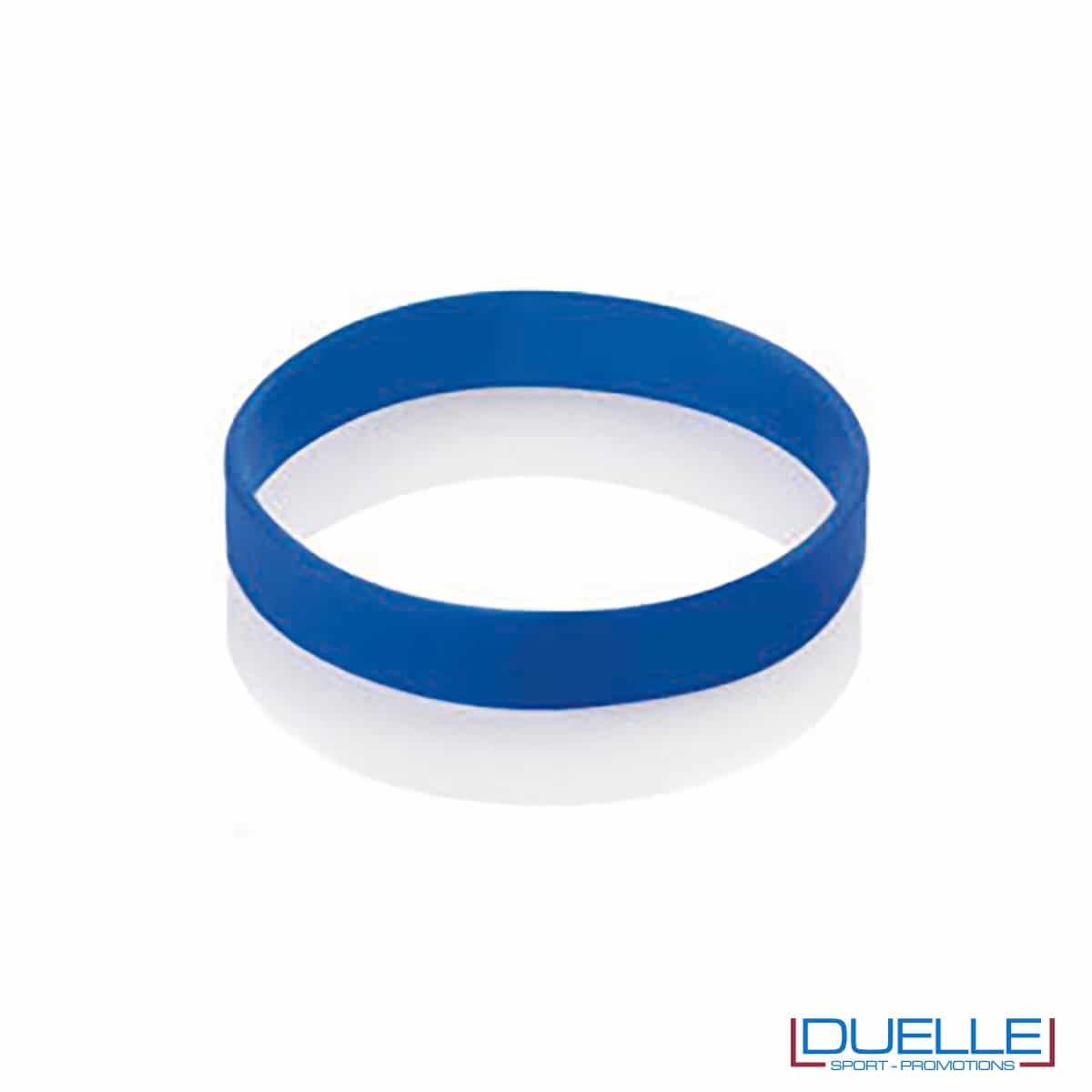 bracciale in silicone personalizzato blu Europei 2016, gadget estate sport, gadget Europei 2016, gadget tifo