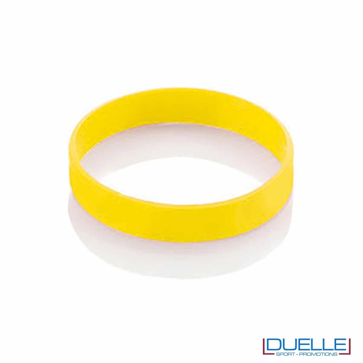 bracciale in silicone personalizzato giallo Europei 2016, gadget estate sport, gadget Europei 2016, gadget tifo
