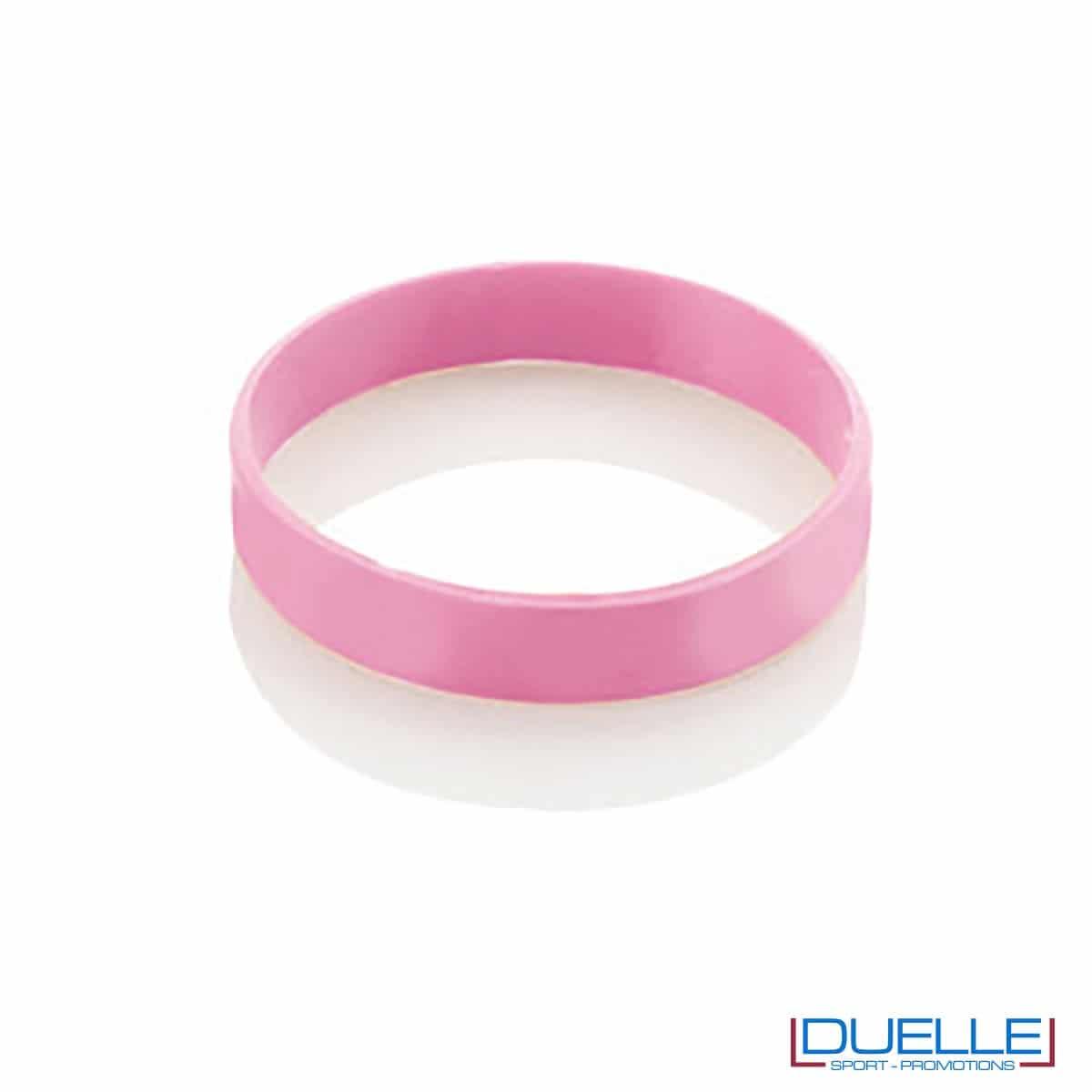 bracciale in silicone personalizzato rosa Europei 2016, gadget estate sport, gadget Europei 2016, gadget tifo
