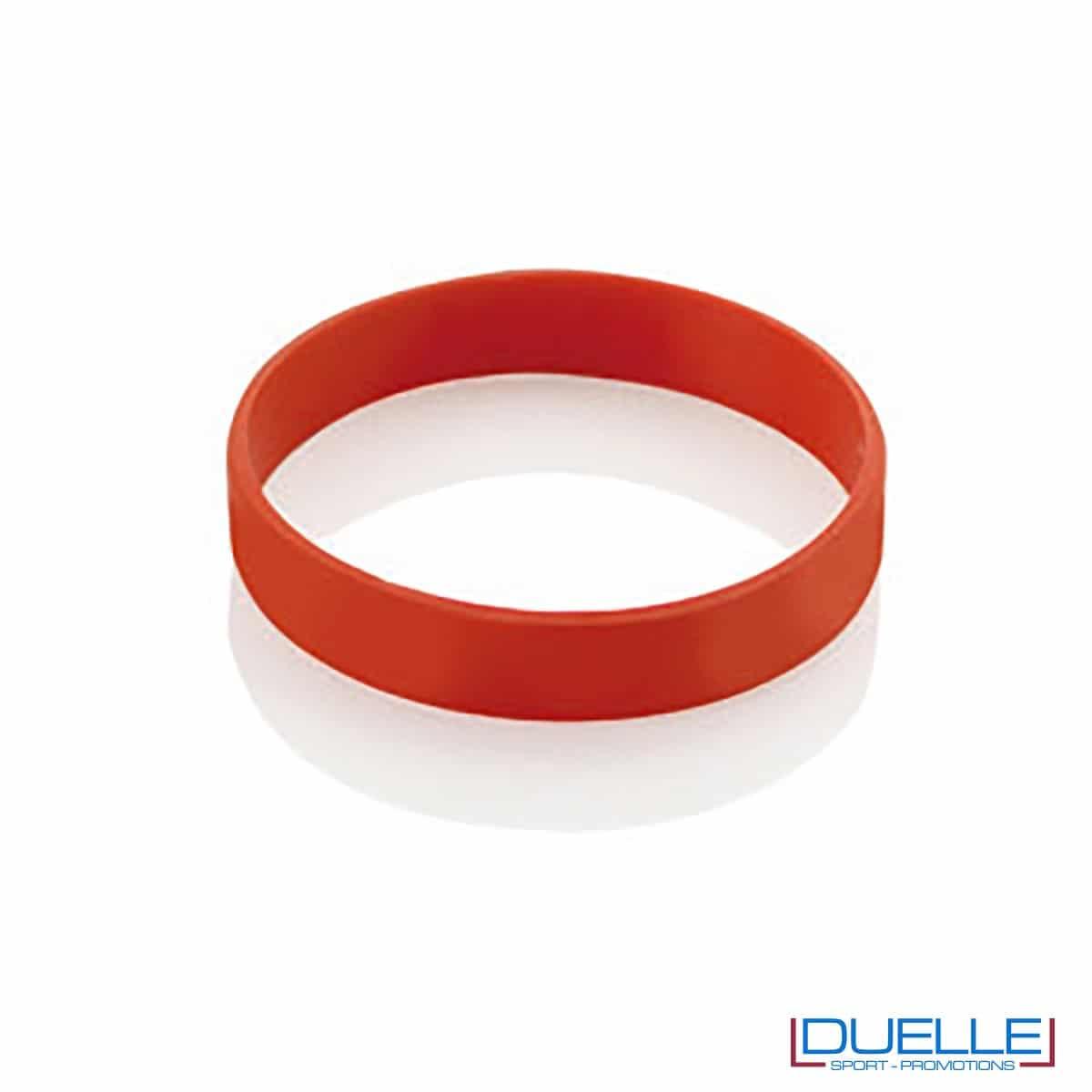 bracciale in silicone personalizzato rosso Europei 2016, gadget estate sport, gadget Europei 2016, gadget tifo