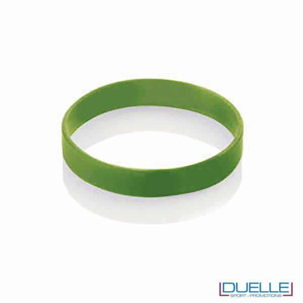 bracciale in silicone personalizzato verde Europei 2016, gadget estate sport, gadget Europei 2016, gadget tifo