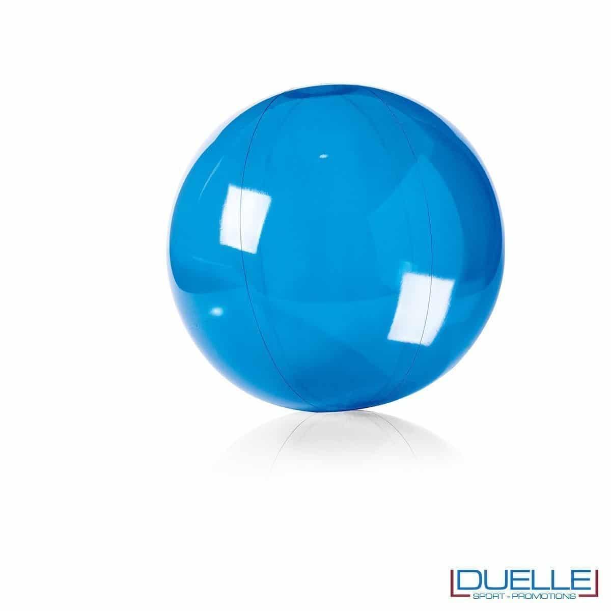 palla personalizzata mare blu, gadget da spiaggia, gadget promozionale estate