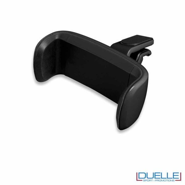 Supporto smartphone universale personalizzato nero