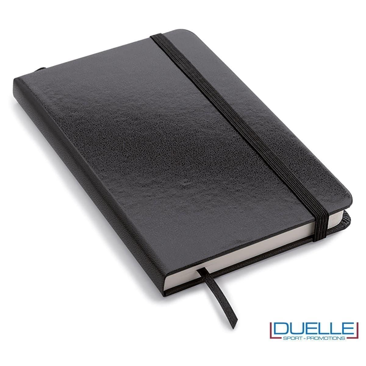 Quaderno appunti personalizzabile tipo moleskine A5 nero