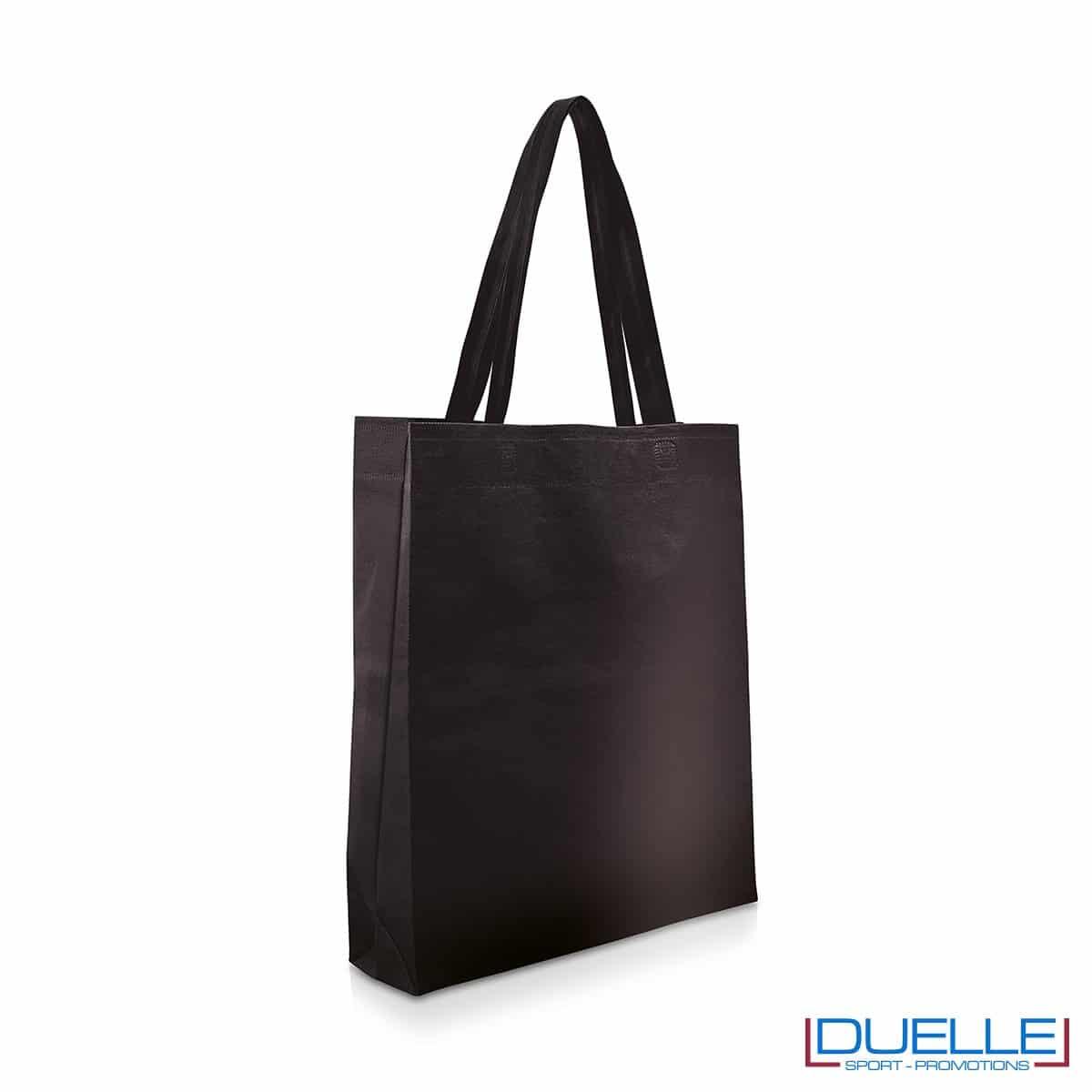 Shopper personalizzabile in TNT colore nero