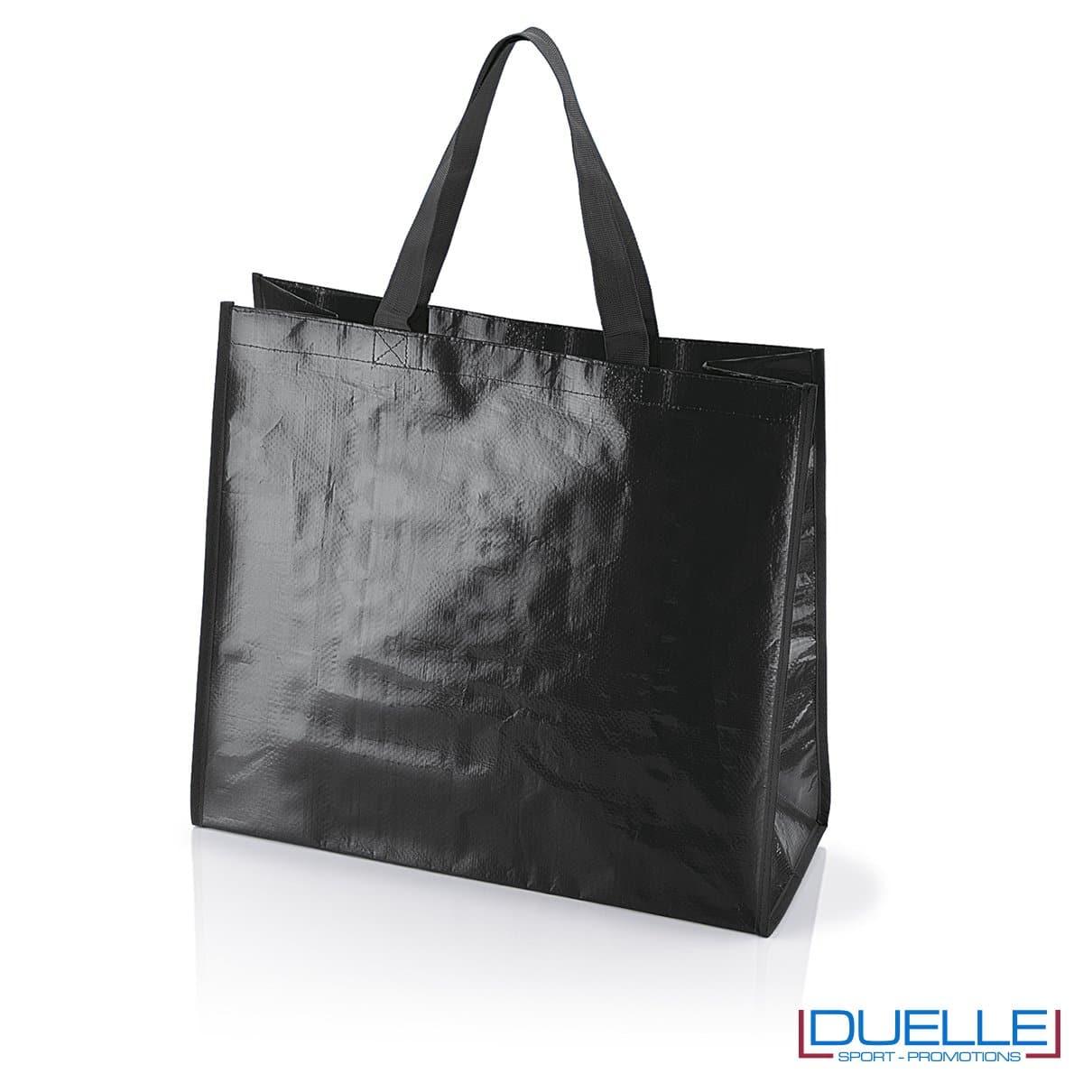 Shopper personalizzata il polipropilene nera