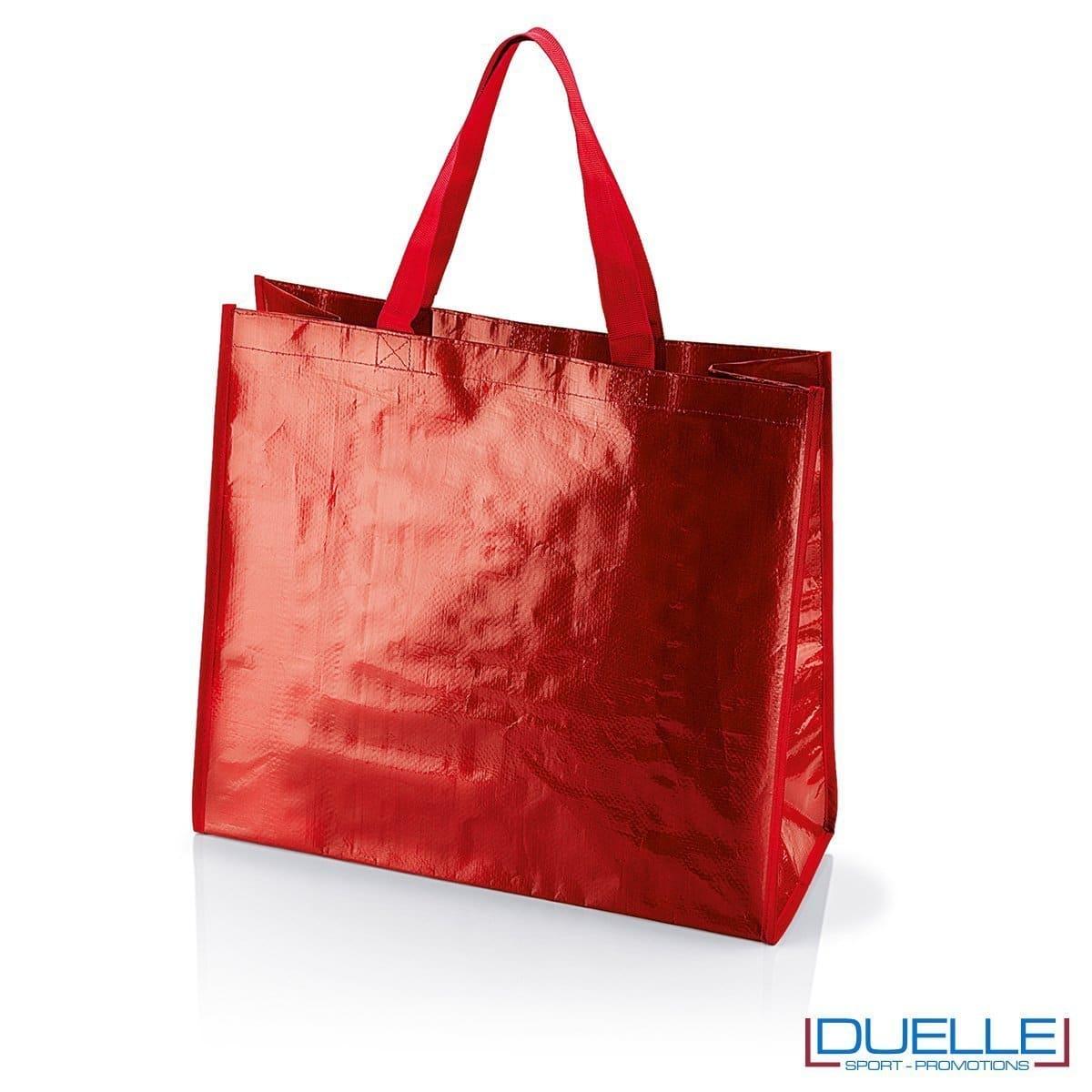 Shopper personalizzata il polipropilene rosso