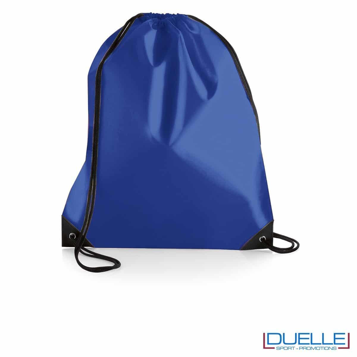 Zainetto impermeabile in nylon blu royal