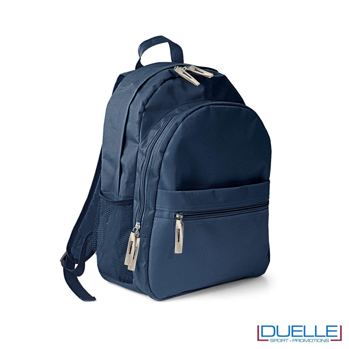 zaino personalizzato, zaino per lo sport e il tempo libero - zaino economico personalizzato blu navy